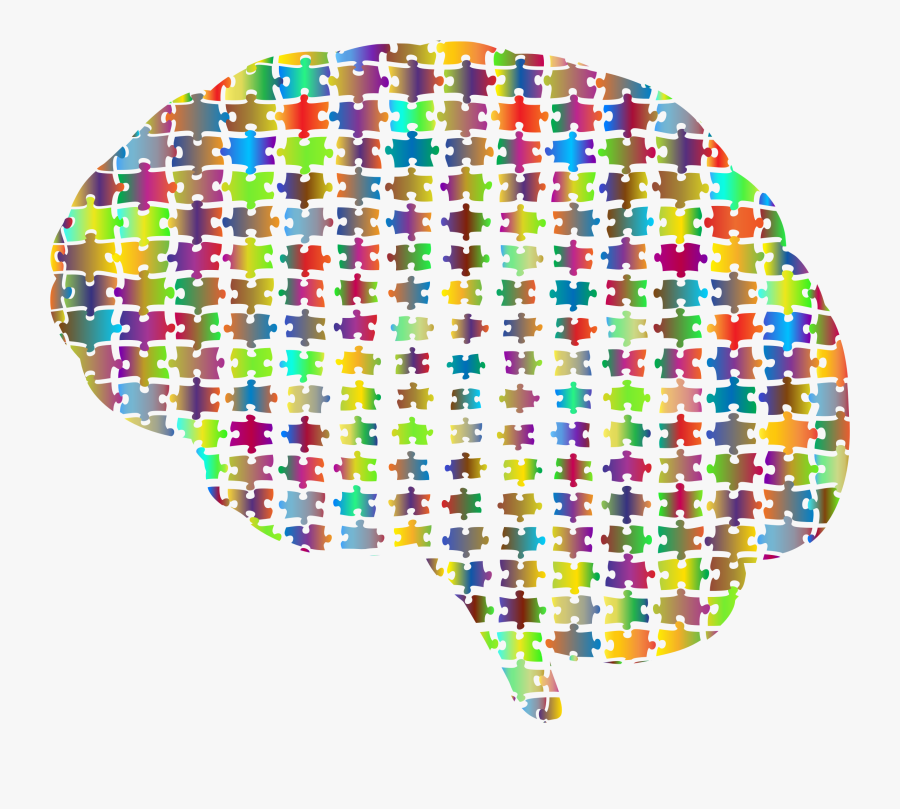Gaps Brain Jigsaw Puzzle Prismatic Clip Arts - Png Puzzle Brain Png, Transparent Clipart