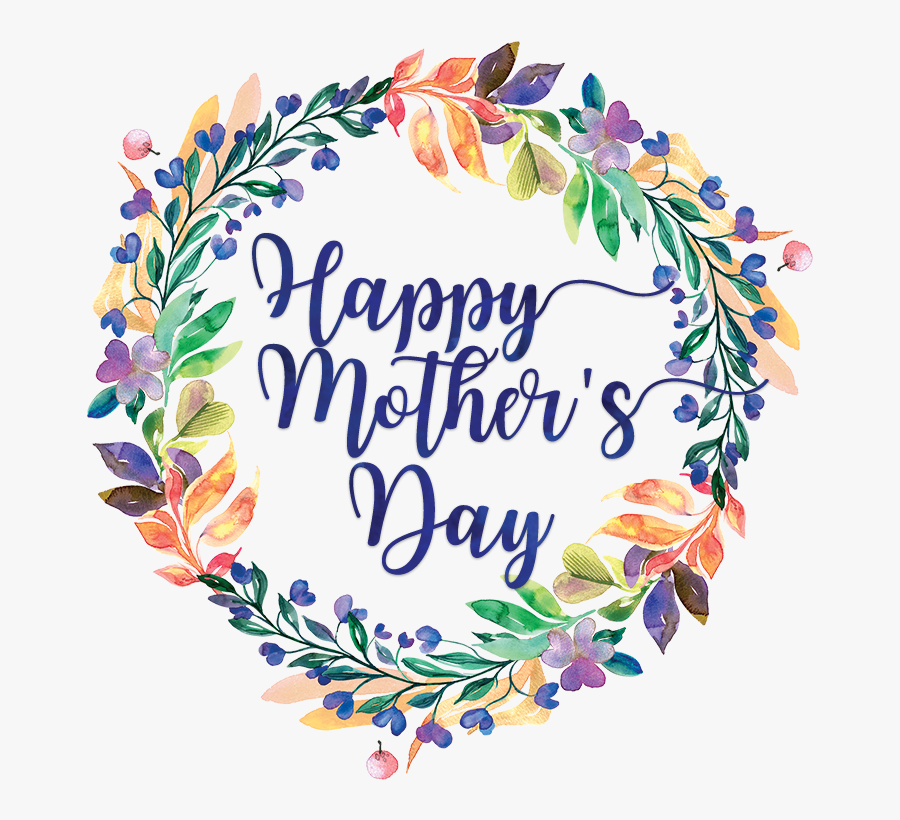 Watercolor Clipart Happy - Transparent Mothers Day Png, Transparent Clipart