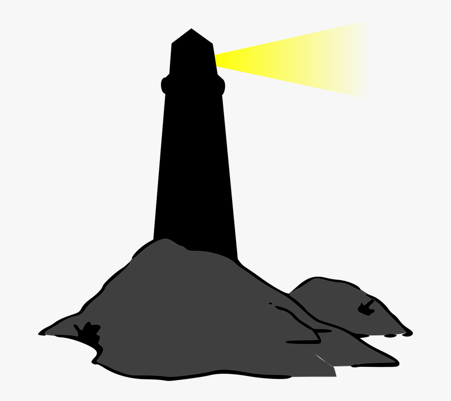 Lighthouse Silhouette Png, Transparent Clipart