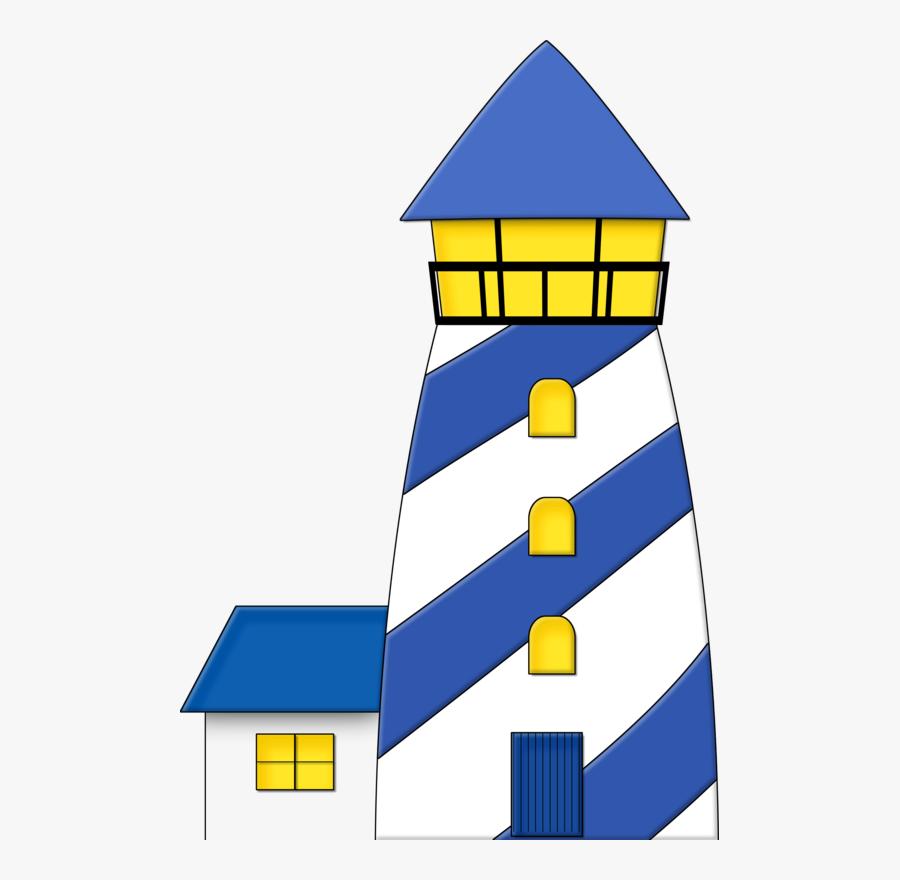 Nautical Lighthouse Clipart, Transparent Clipart