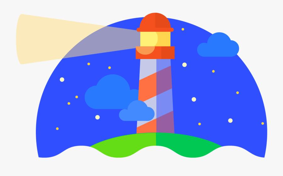 Lighthouse Clipart Building A - Google Chrome Lighthouse, Transparent Clipart