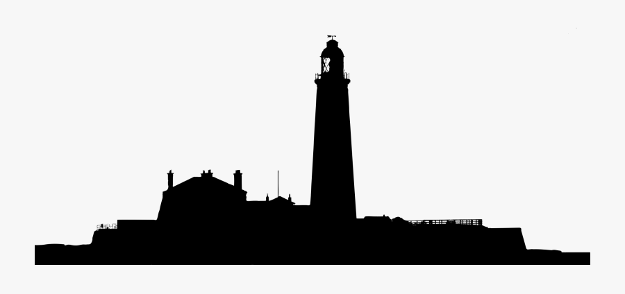 Landscape Silhouette Clip Art At Getdrawings - Lighthouse Silhouette Png, Transparent Clipart