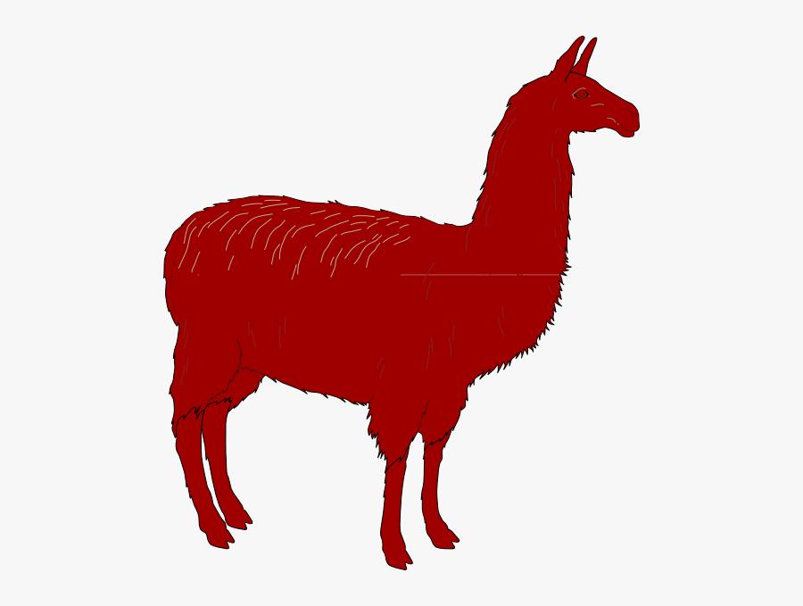 Llama Silhouette Transparent, Transparent Clipart