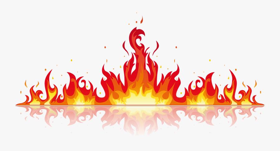 Clip Art Fire Transprent Png Free Download Ⓒ - Fire Vector Png, Transparent Clipart