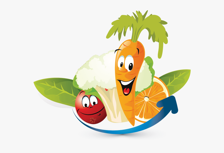 Transparent Vegetables Clipart Png - Animated Fruits And Vegetables, Transparent Clipart