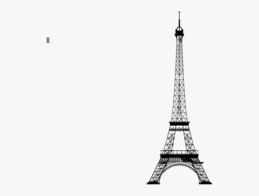 Eiffel Tower Vector Png, Transparent Clipart