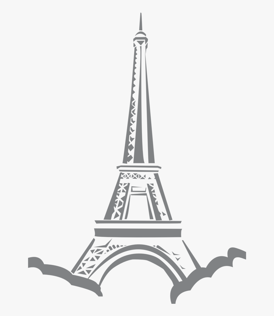 Paris Eiffel Tower Clip Art, Transparent Clipart