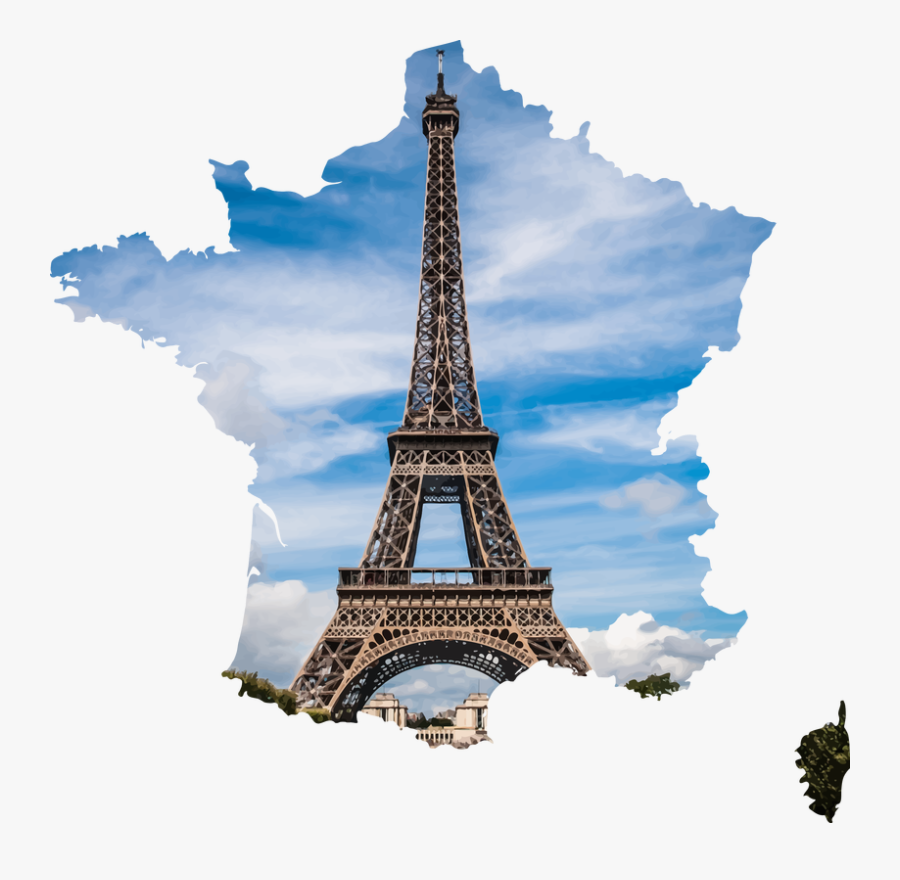 Eiffel Tower Clipart Spire - Paris Eiffel Tower Png, Transparent Clipart