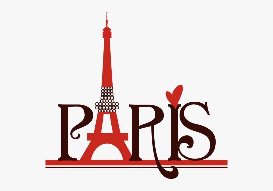 Transparent Paris Tower Png - Eiffel Tower Paris Letter, Transparent Clipart