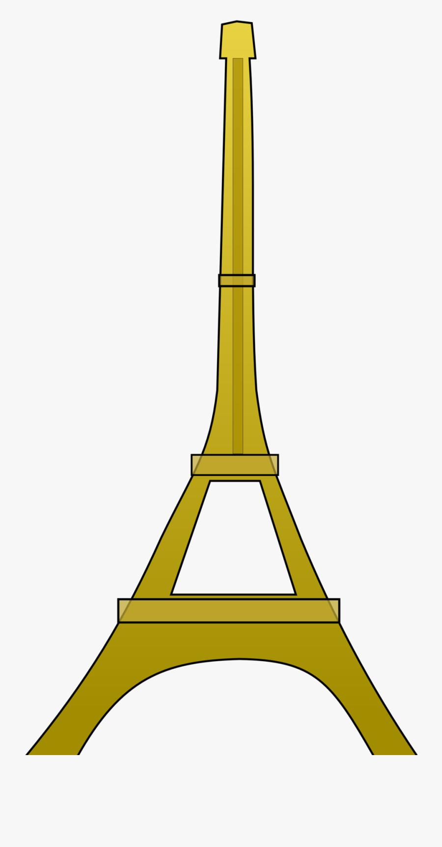 Eiffel Tower - Eiffel Tower Clip Art, Transparent Clipart