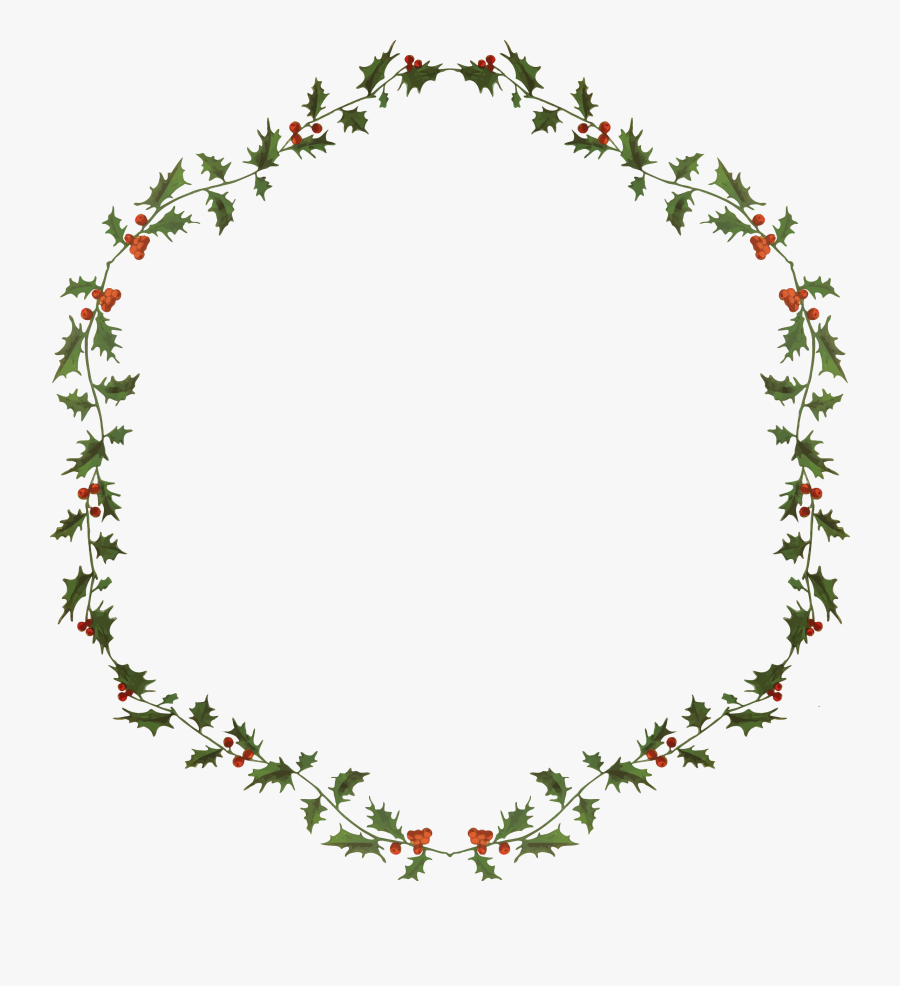 Transparent Flower Wreath Clipart Free - Wreath, Transparent Clipart