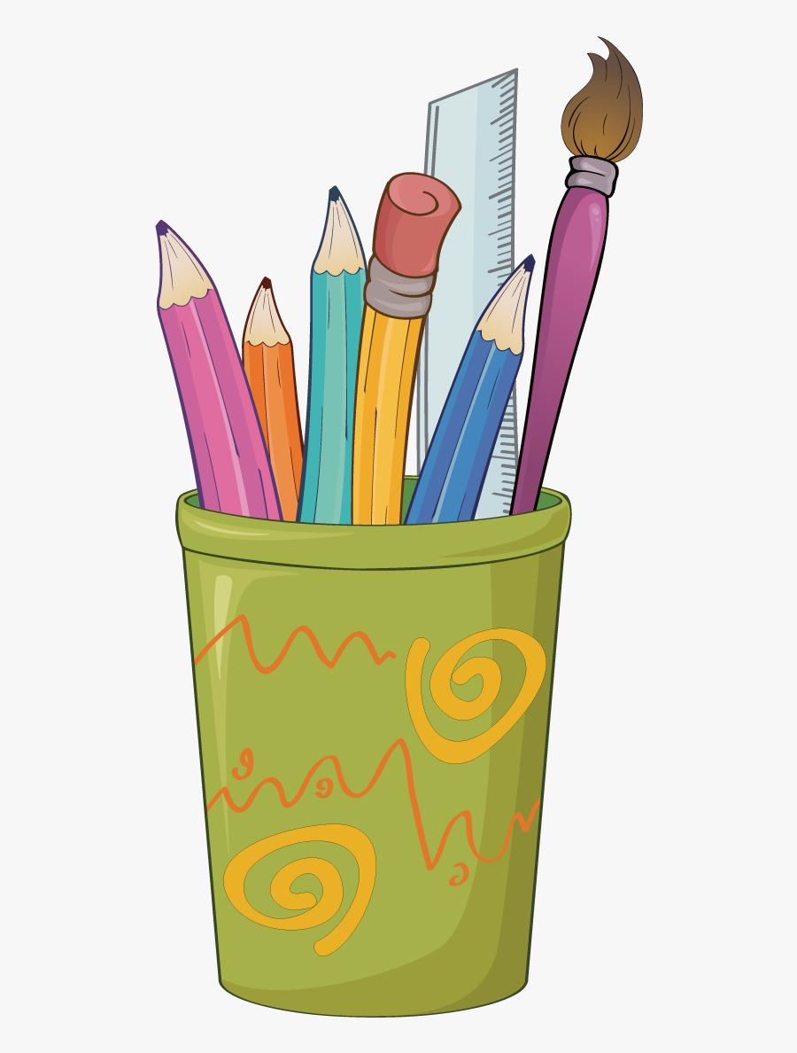 Paperclip Clipart School Supply - Pencil Drawings Clip Art, Transparent Clipart