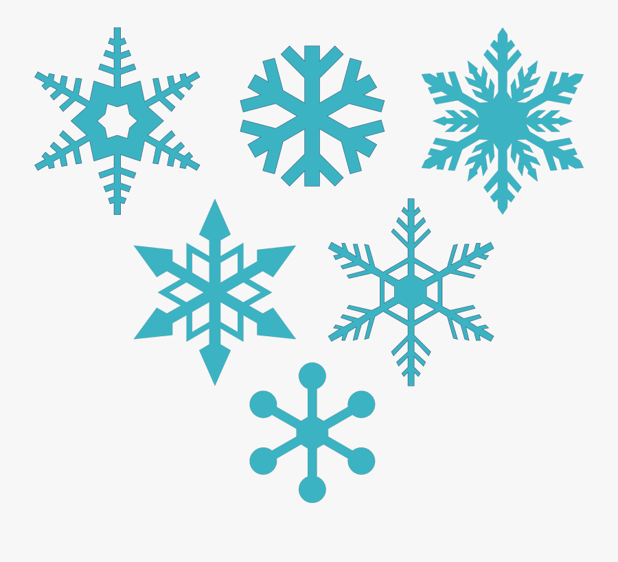 Snowflake Clipart Wallpapers - Free Snowflake Svg File, Transparent Clipart