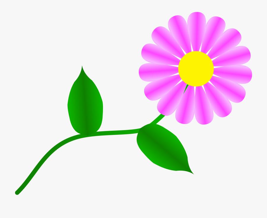 May Clipart Public Domain - Single Flower Clip Art Free, Transparent Clipart