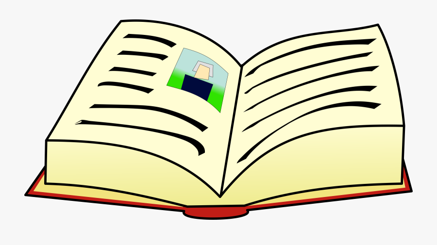 Book Vector Freeuse Download - Words In A Book Clip Art, Transparent Clipart