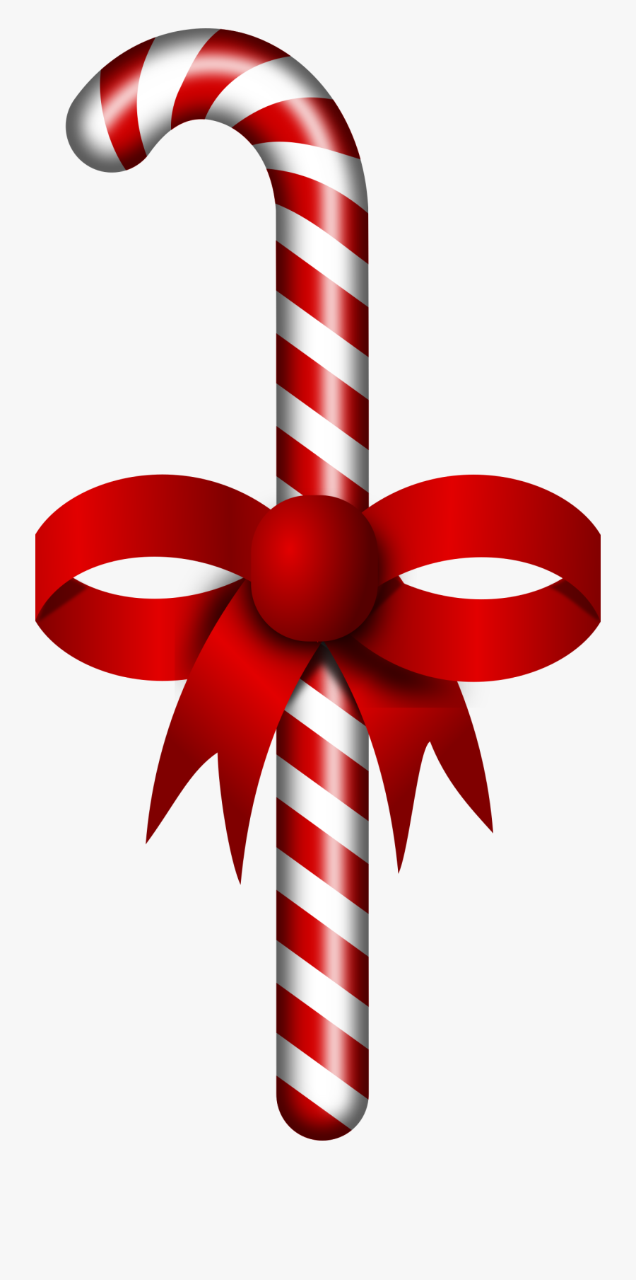 Thumb Image - Santa Claus Candy Stick, Transparent Clipart