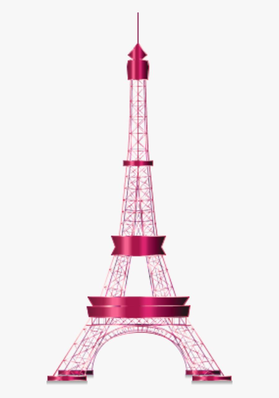 Tower Clipart Transparent - Transparent Background Eiffel Tower Clipart Transparent, Transparent Clipart