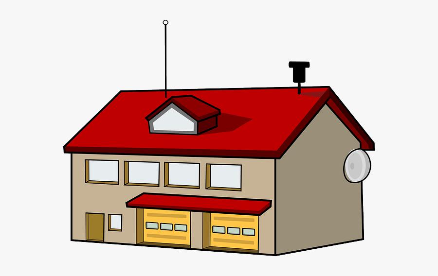 Clipart Info - Transparent Fire Station Clipart, Transparent Clipart