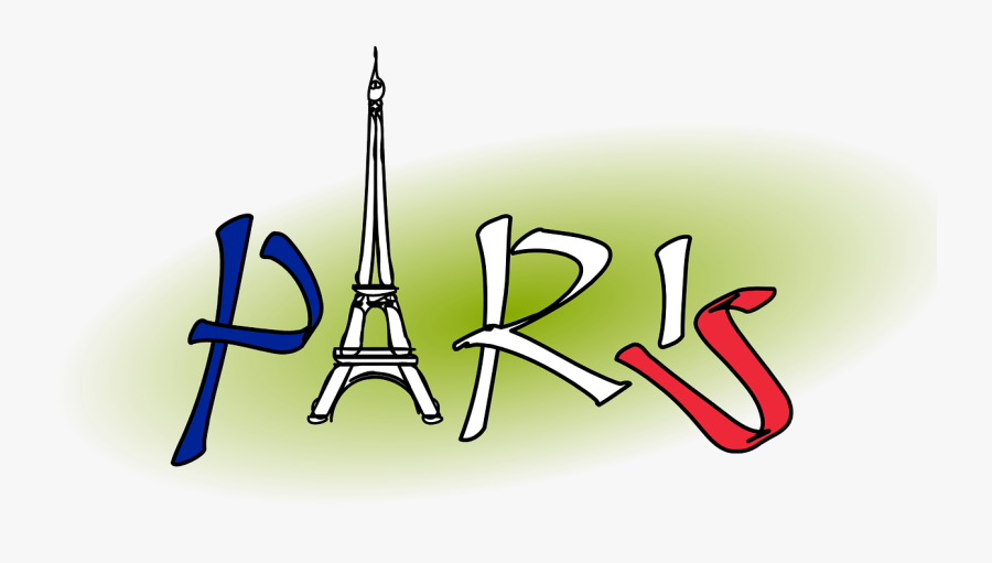 Paris Logo Eiffel Free Picture - Clipart Paris, Transparent Clipart