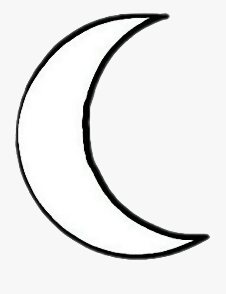 Sun Drawing Download Free Clipart With A Transparent - Moon Drawing Png White, Transparent Clipart