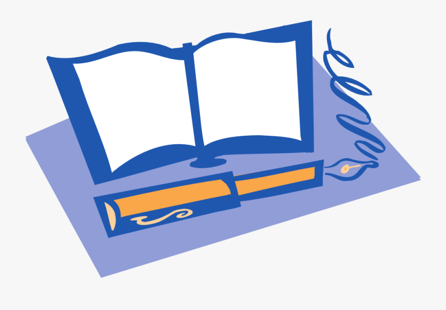 Books And Pen Png, Transparent Clipart