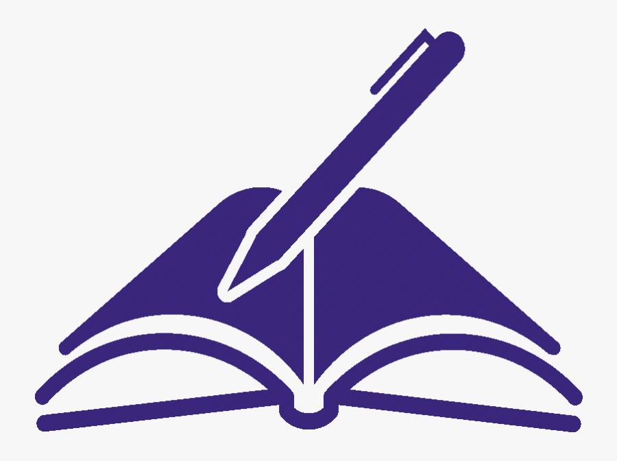 Pen Clipart Open Book - Book And Pen Logo, Transparent Clipart