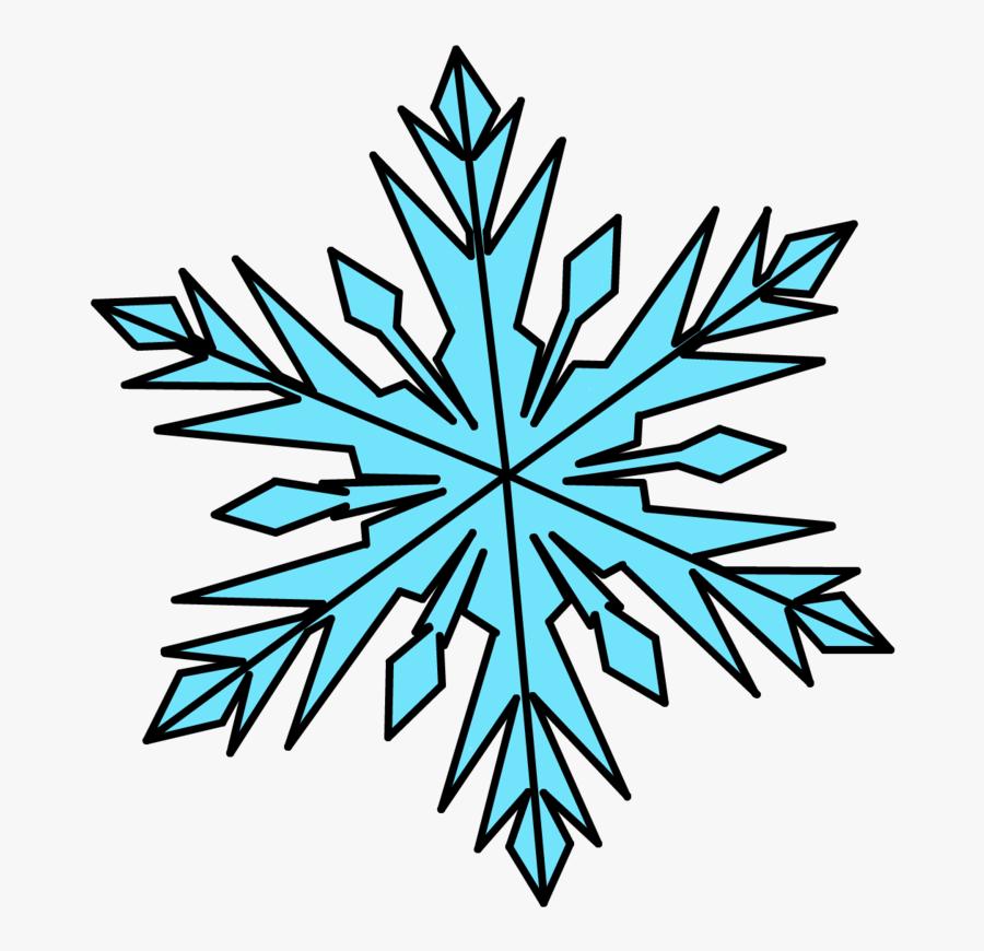 Transparent Frozen Snowflake Png - Vector Snowflake Clipart Frozen Snowflake, Transparent Clipart