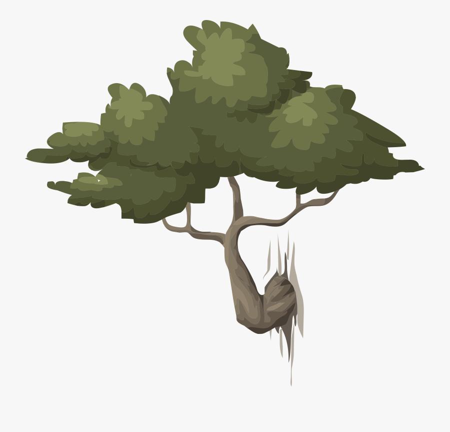 Alpine Landscape Mountain Bonsai 01b Al1 - Free Illustration Coppiced Woods Trees Free, Transparent Clipart