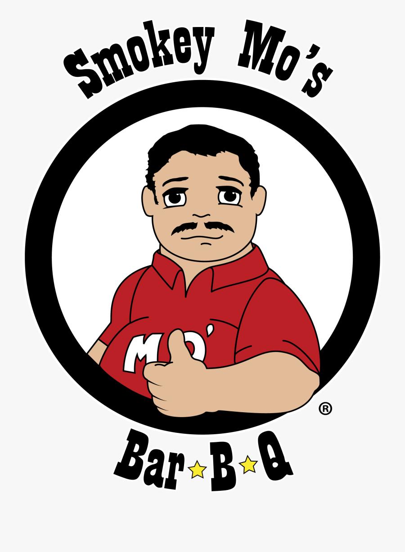 The Smokey Mo - Smokey Mo's Bbq Logo, Transparent Clipart
