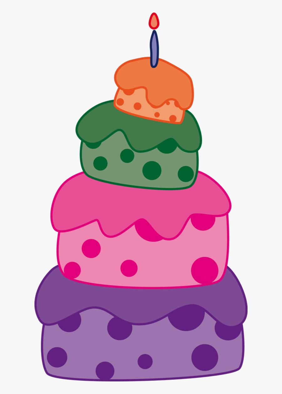 Snowflakes Clipart Cake - Pastel 1 Año Png, Transparent Clipart