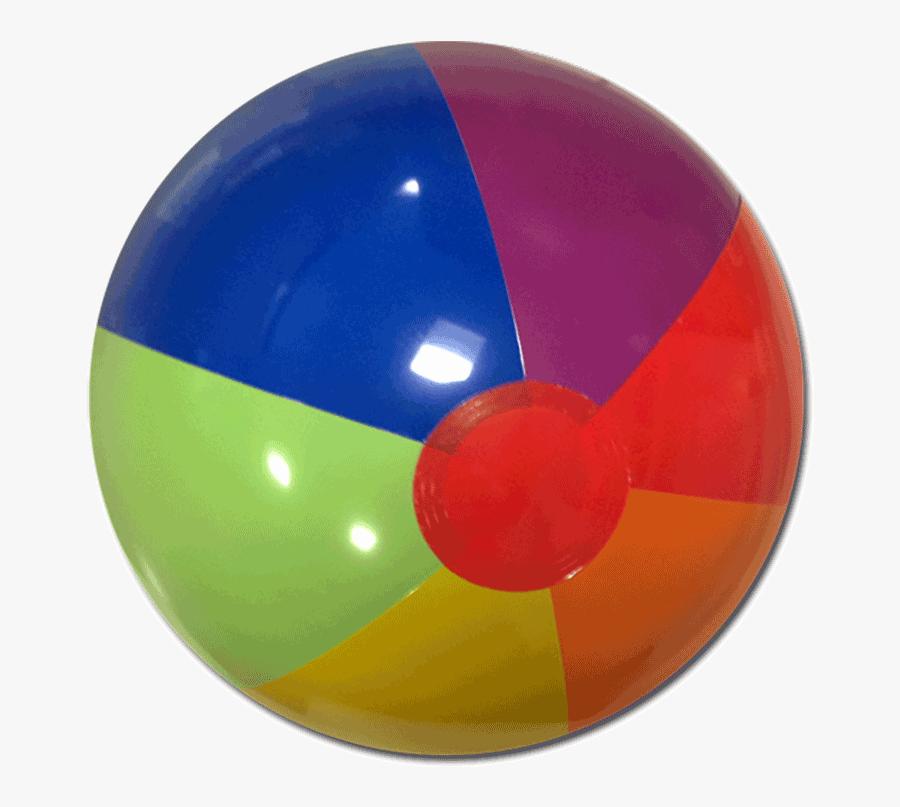 Red Orange Yellow Green Blue Purple Beach Ball, Transparent Clipart