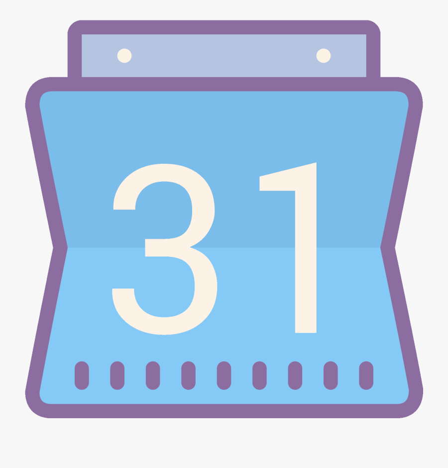 Google Calendar Icon Free Download Png And Vector - Google Calendar Icon, Transparent Clipart