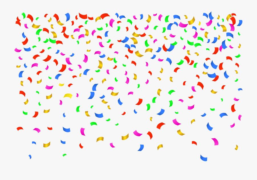 Confetti Transparent Png Clip Art Image - Transparent Background Confetti Clipart, Transparent Clipart