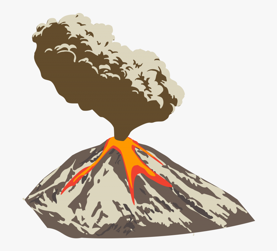 Volcanic Eruption Clipart Png, Transparent Clipart