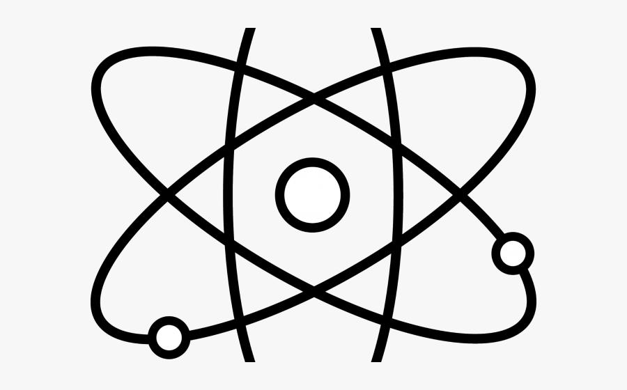 Particle Clipart Atom Symbol - Atom Symbol, Transparent Clipart