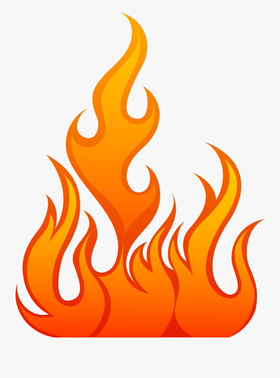 Hell Clipart Fire Sparks - Fire Flames Vector Png, Transparent Clipart