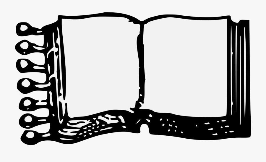 Transparent Open Book Clip Art Png - Open Book Pdf, Transparent Clipart