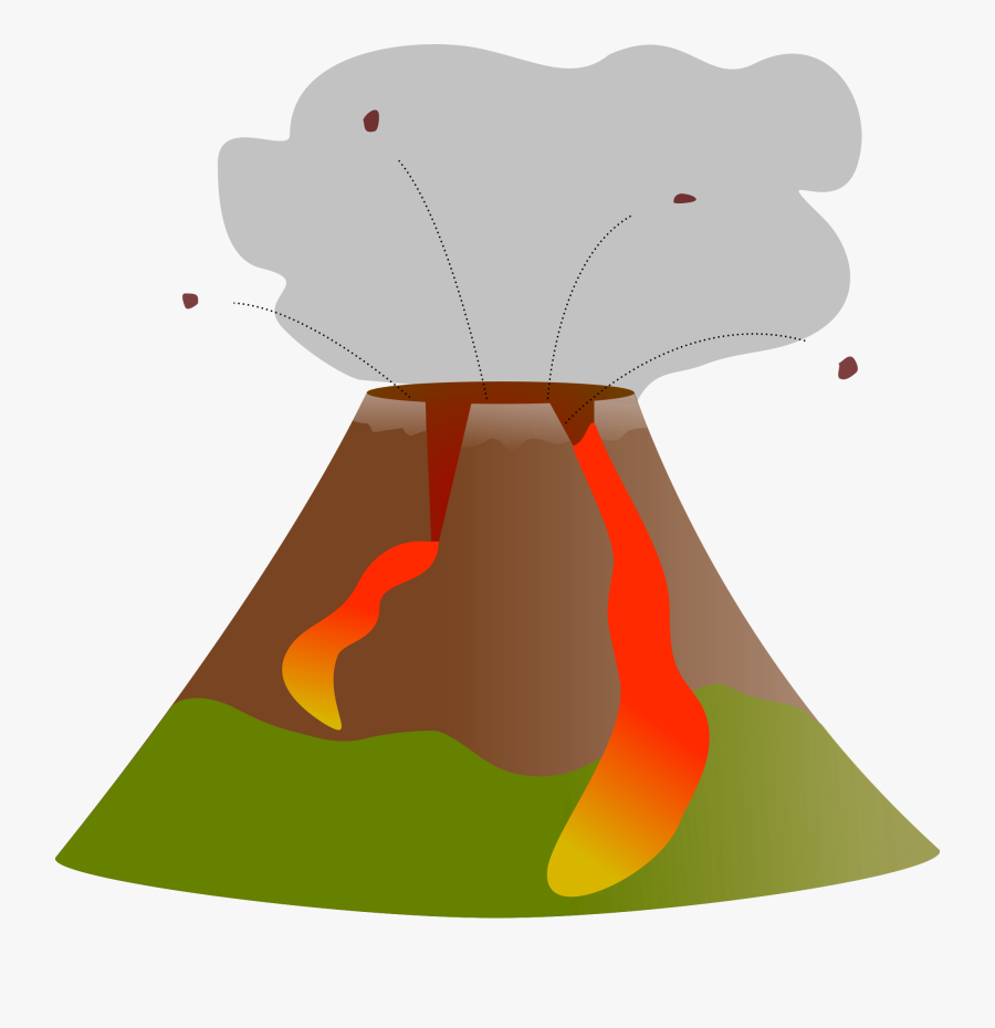 Clip Art Transparent Volcano For - Transparent Volcano Clipart Png, Transparent Clipart