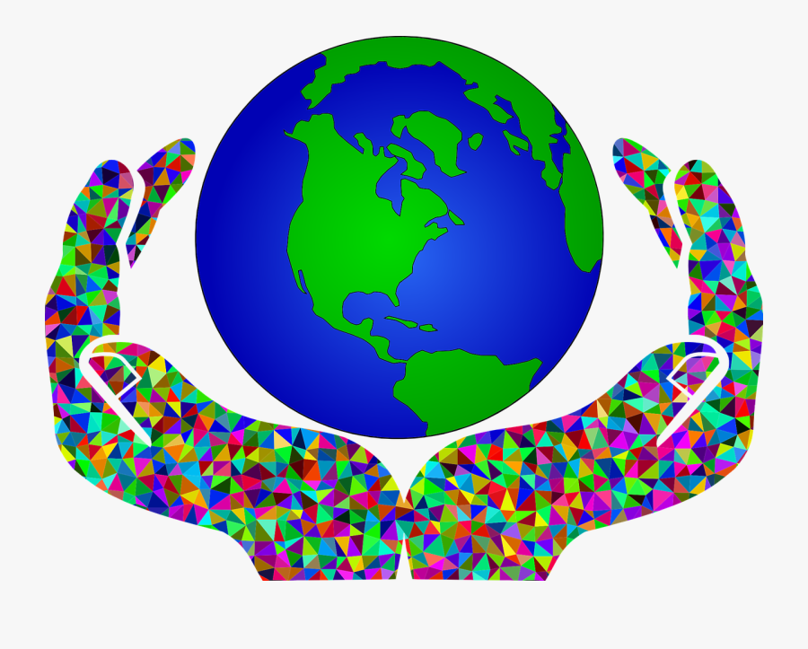 Clip Art World Earth Clipart Global - Poster On Save Environment, Transparent Clipart