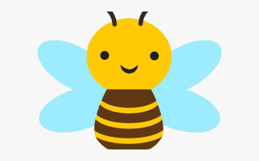 Transparent Cute Bee Clipart - Clip Art Cute Bee, Transparent Clipart