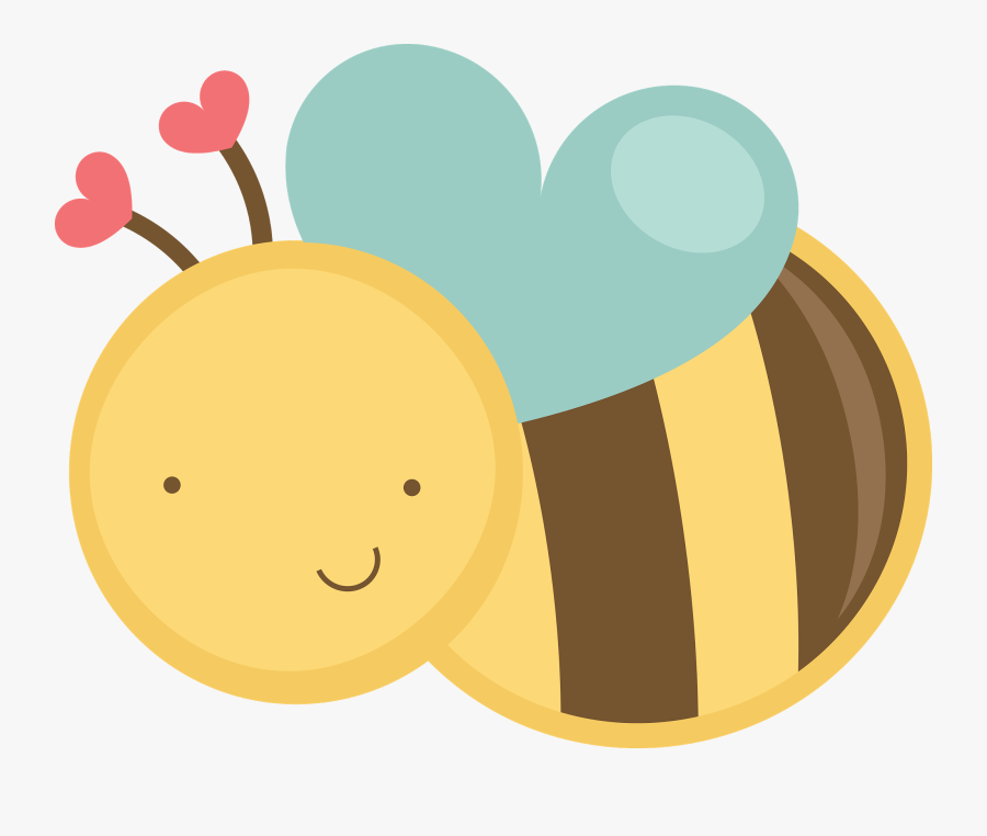 Transparent Flying Bee Png - Cute Honey Bee Clipart, Transparent Clipart