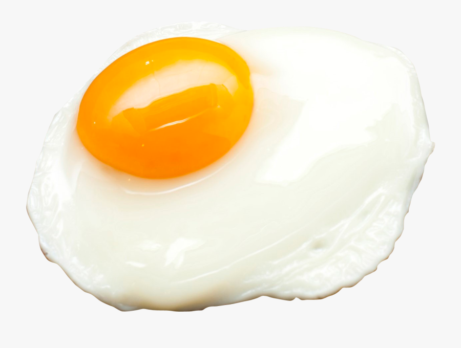 Transparent Fried Egg Clipart Black And White - Fried Egg, Transparent Clipart