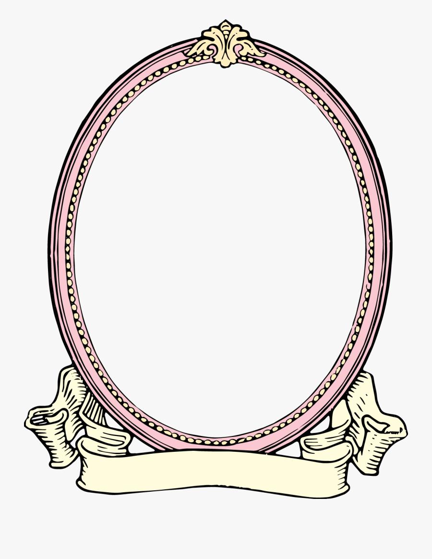 Vintage Oval Frame Png, Transparent Clipart