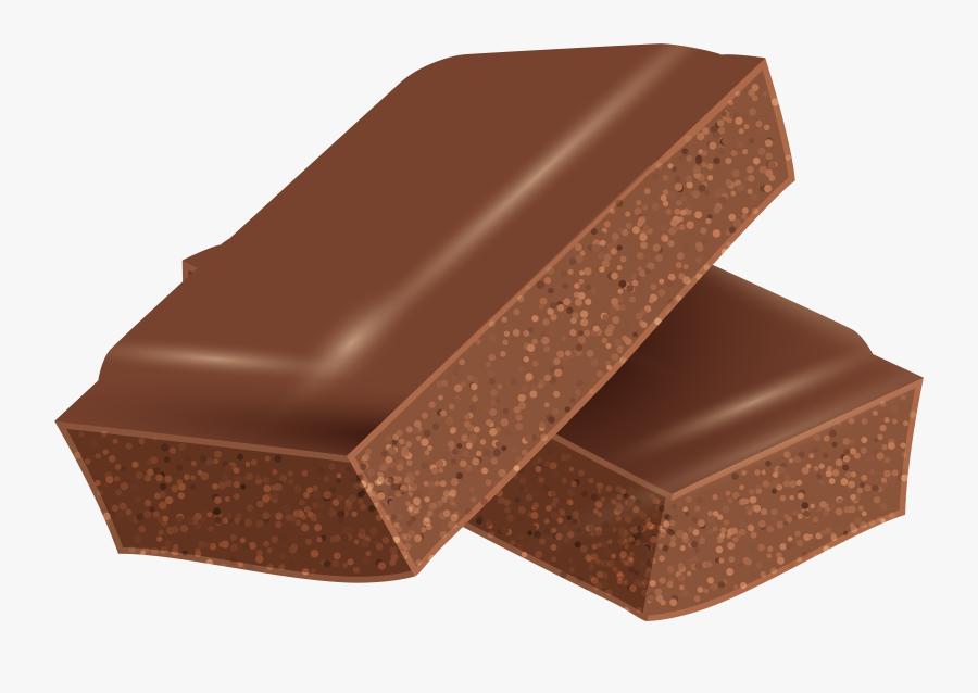 Chocolate Pieces Transparent Png Clip Art Image - Transparent Chocolate Piece, Transparent Clipart