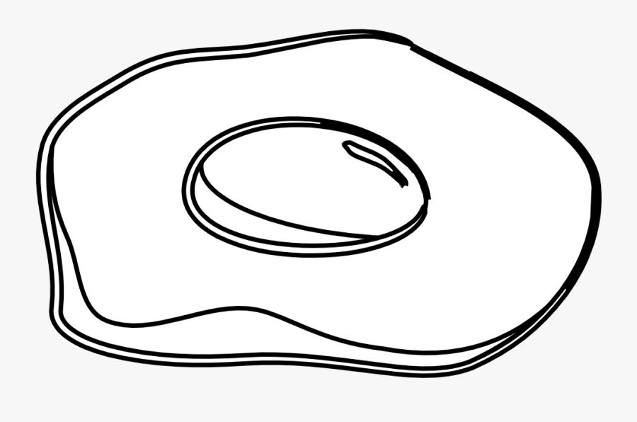 Clipartist - Coloring Book Egg Yolk, Transparent Clipart