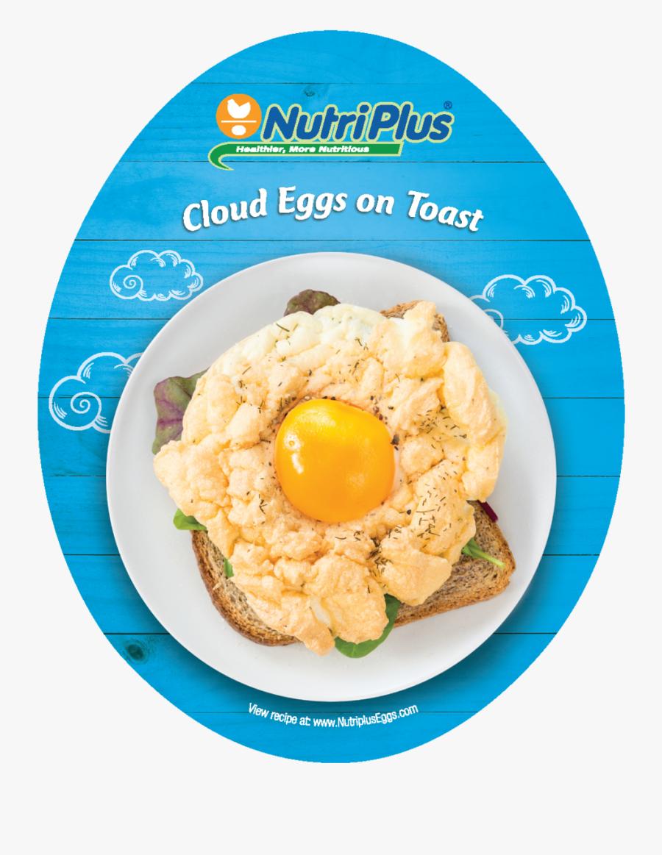 Transparent Egg Yolk Clipart - Fried Egg, Transparent Clipart