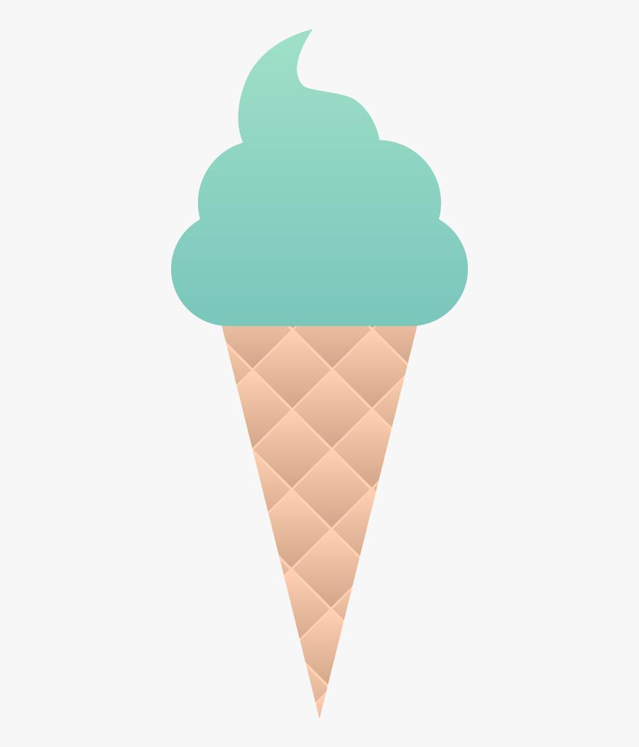 Null - Ice Cream Cone, Transparent Clipart