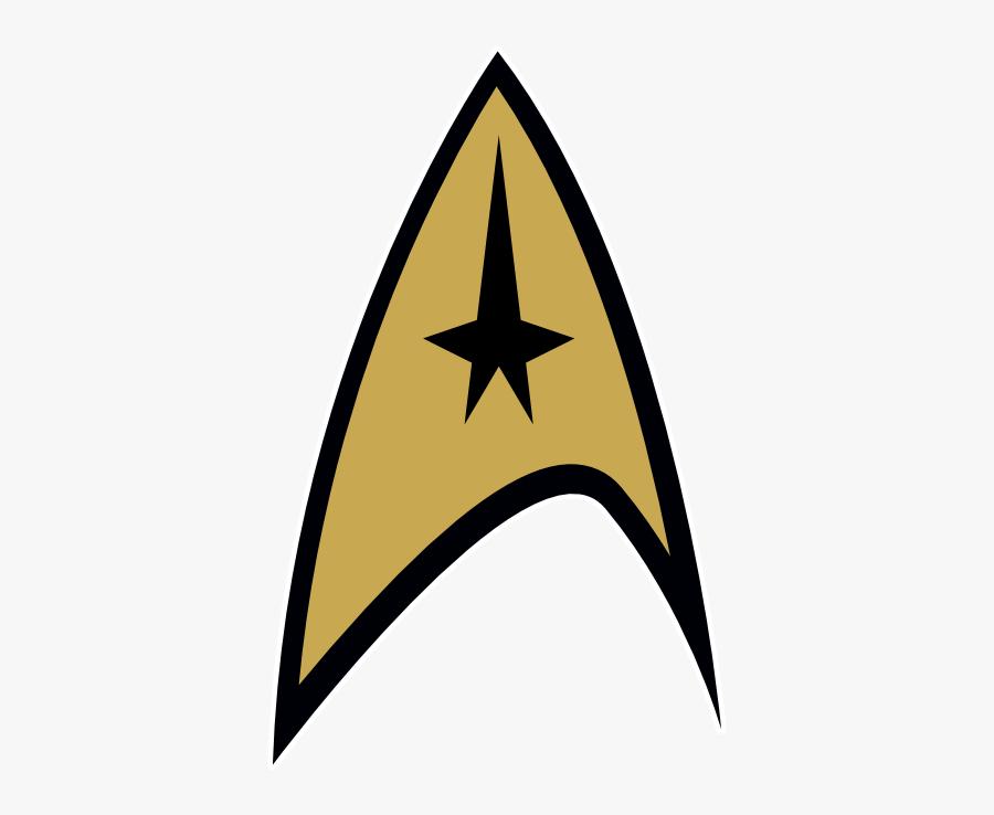 Cool Star Trek Clipart - Uss Enterprise Star Trek Logo, Transparent Clipart