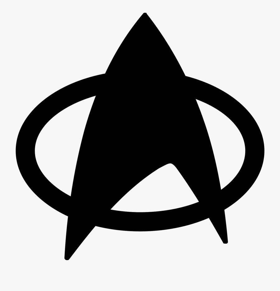 Communicator Star Trek Badge Computer Icons Symbol - Star Trek Next Generation Symbol, Transparent Clipart