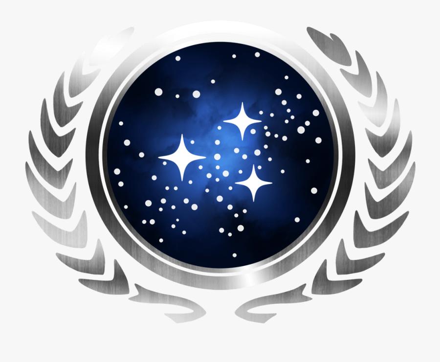 Star Trek Federation Symbol - Star Trek Federation Logo Png, Transparent Clipart